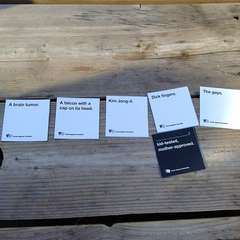 Cards Against Humanity Play Date