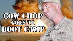COW CHOP GOES TO BOOT CAMP