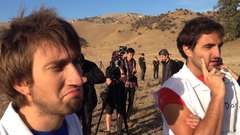 Gavin is on set at Youtube Rewind