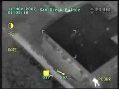 Thermal Camera Car Chase