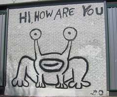 """Hi, How Are You"" Mural"