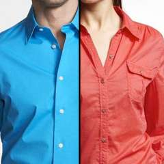 Men and Women's Button Up Shirts