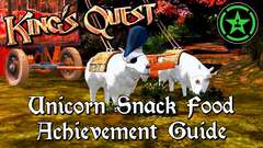 King's Quest - Unicorn Snack Food, A Secret Entrance & A Prickly Situation Achievement Guide