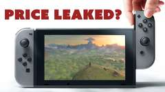 Nintendo Switch Price LEAKED?