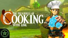The Pleasures of Cooking...with Link!