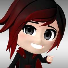 Image result for ruby rose rwby chibi