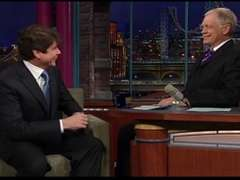 Rod Blagojevich on Letterman