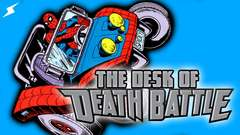 Spider-Man rides out in the Spider-Mobile! | The Desk of DEATH BATTLE