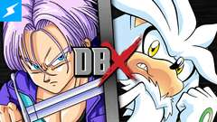 Trunks VS Silver (Dragon Ball Z VS Sonic the Hedgehog)