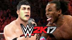 XAVIER WOODS VS THE TROLL! - WWE 2K17 Gameplay Part 7