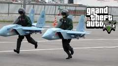 TOP GUN GUZZLERS - GTA 5 Gameplay