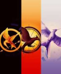 The Hunger Games, Catching Fire, & MockingJay