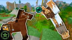 Minecraft – Episode 250 – Mo'Chievements: Horsin' Around