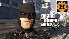 THE DARK KNIGHT in GTA 5! Mod Gameplay!