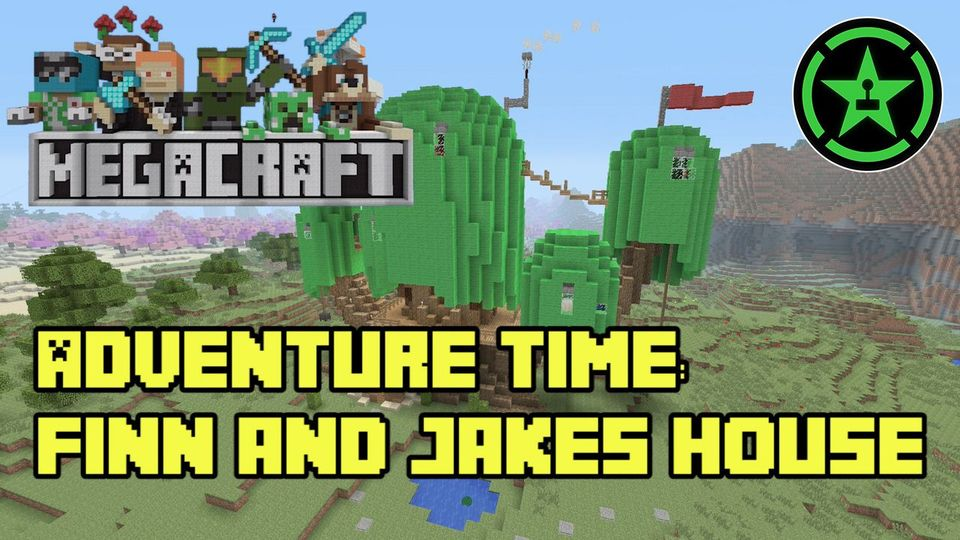 MegaCraft - Adventure Time: Finn and Jake's House