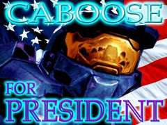 caboose for president