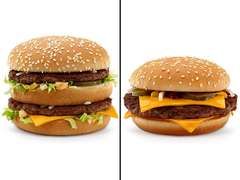 Big Mac vs. Quarter Pound