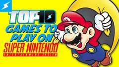 Top 10 Games You NEED To Play on the SNES