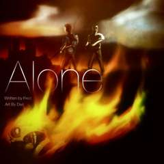 Alone Comic book