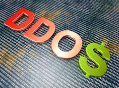 Cost of DDoS attacks to businesses