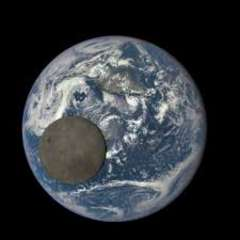 NASA Moon Earth Pic