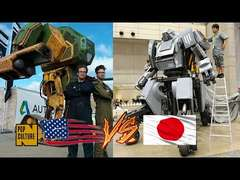 US vs Japan Robot Battle