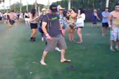 Drunk Guy vs Flip Flop