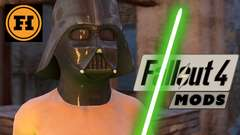 STAR WARS in FALLOUT 4!! - Fallout 4 Mod Gameplay