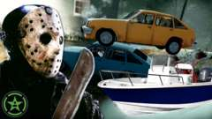 Friday the 13th: The Game - Vehicle Surfing