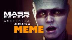 Mass Effect Andromeda ALREADY A MEME
