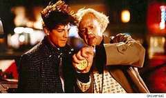 Eric Stoltz in Back to the Future
