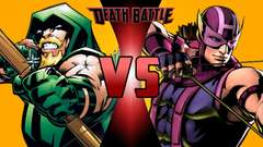 Green Arrow VS Hawkeye