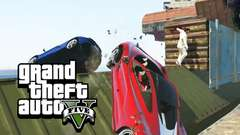 CARS VS RUNNERS - GTA 5 Gameplay