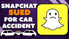 Snapchat SUED For Car Accident