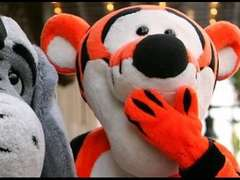 Kid catches Tigger Mid Coitus
