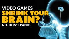 Video Games SHRINK YOUR BRAIN? Uh... no