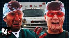Surgeon Simulator in an Ambulance - Featuring Gavin and Michael