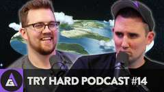 The World is FLAT??? - Try Hard Podcast #14