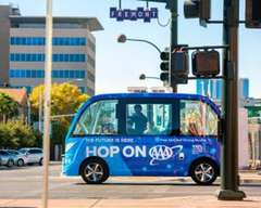 Self Driving Shuttle Crash in Vegas