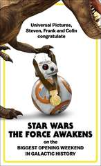 Jurassic Metal to BB8