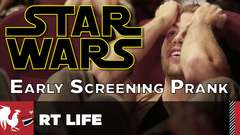Star Wars Early Screening Prank (No Spoilers)