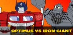 Optimus Prime VS Iron Giant
