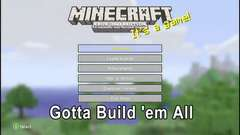 Minecraft: Gotta Build 'Em All