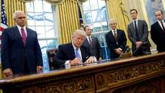Trump Signs Global Gag Rule