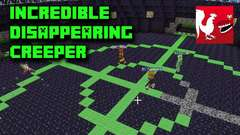 Minecraft - Incredible Disappearing Creeper