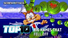 Top 10 Big Names That Fell Off | ScrewAttack!