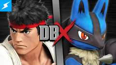 Ryu VS Lucario (Street Fighter VS Pokémon)