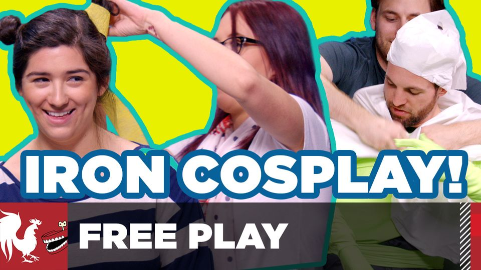 Iron Cosplay! - Free Play #17