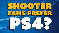 Shooter Fans Prefer PS4