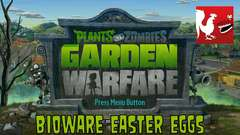 Plants vs. Zombies: Garden Warfare - Bioware Easter Eggs